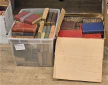 Large Collection of Old & Antique Literature Books