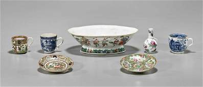Seven Old & Antique Chinese Porcelains