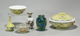 Group of Six Chinese Porcelains