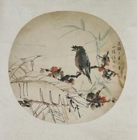 Two Chinese Paper Scrolls: After Yu Feian & Ren Bonian