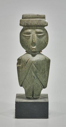 Olmec Carved Hardstone Figure