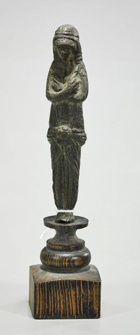 Romano-Egyptian Style Bronze Figure