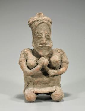 Pre-Columbian Nayarit Pottery Figure