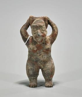 Pre-Columbian Jalisco Pottery Figure