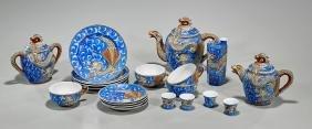 Twenty-Piece Japanese Tea & Sake Set