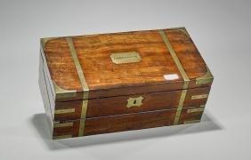 Antique Portable Wood Writing Desk