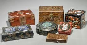 Group of Seven Various Boxes