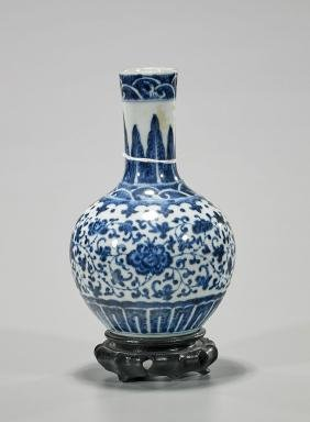 Antique Chinese Porcelain Bottle Vase