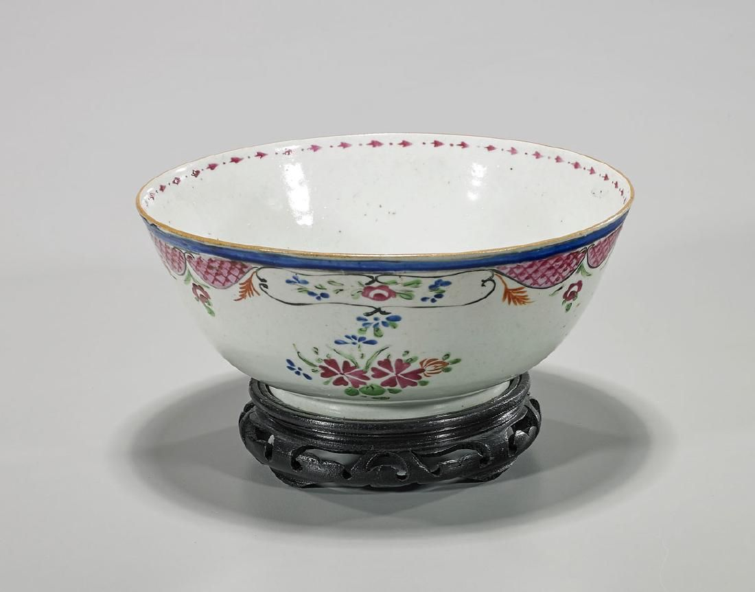 Large Antique Chinese Export Bowl