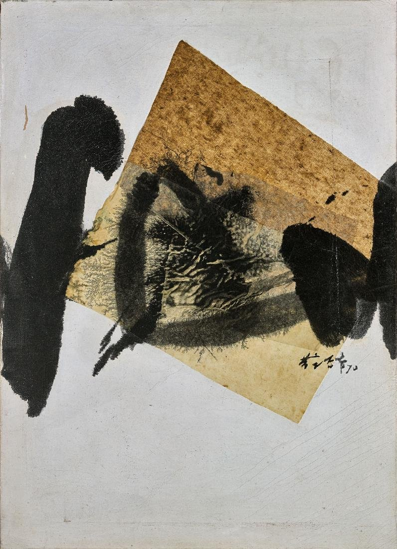 MIXED MEDIA PAINTING BY CHUANG CHE