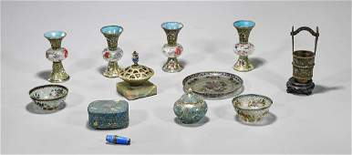 Group of Twelve Various Old & Antique Chinese Pieces