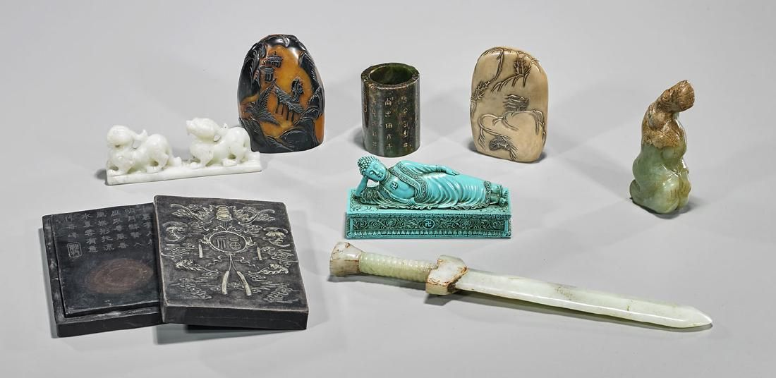 Group of Eight Various Chinese Pieces