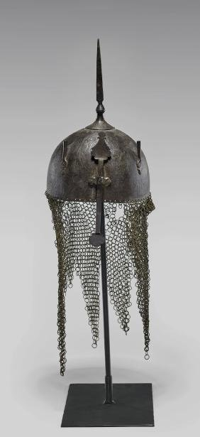 Antique Indo-persian 'kulah Khud' Helmet