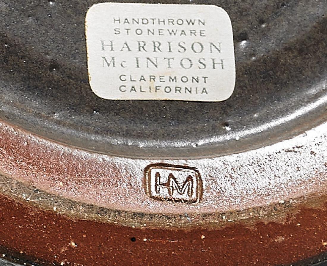 MID-CENTURY STONEWARE BOWL BY HARRISON MCINTOSH - 3