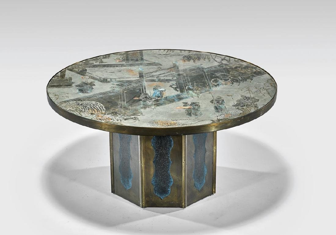 """""""CHAN"""" COFFEE TABLE BY PHILIP & KELVIN LAVERNE"""