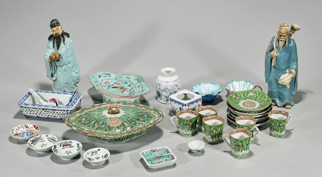 Collection of Old & Antique Chinese & Japanese Ceramics