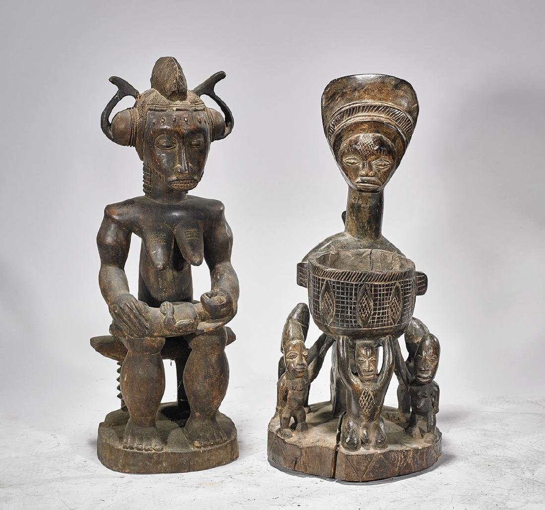 Two African Maternity Figures