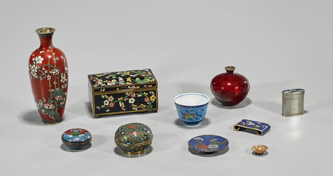 Group of Old & Antique Chinese & Japanese Metalwork