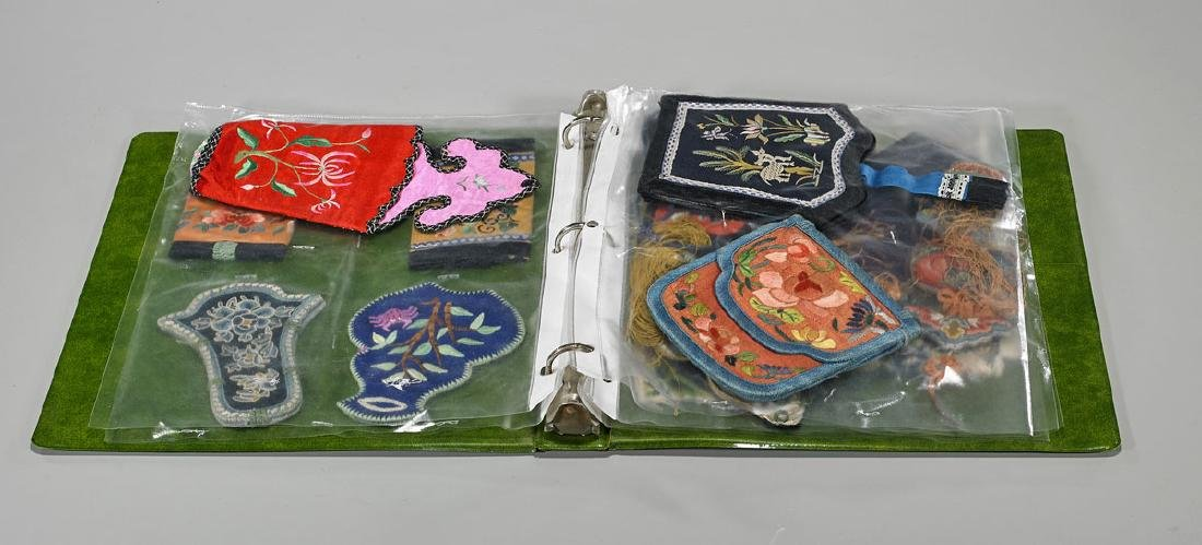 Large Collection of Various Chinese Silk Embroidery - 3