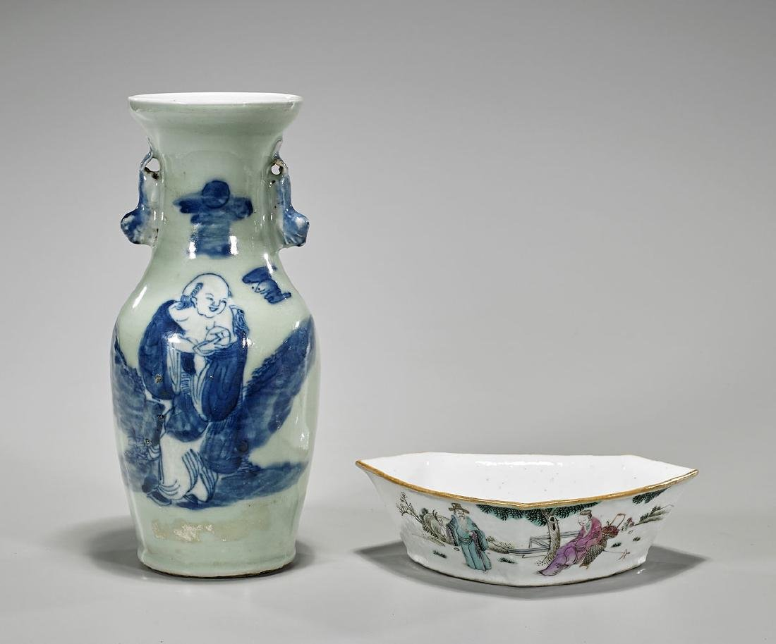 Two Old & Antique Chinese Porcelains