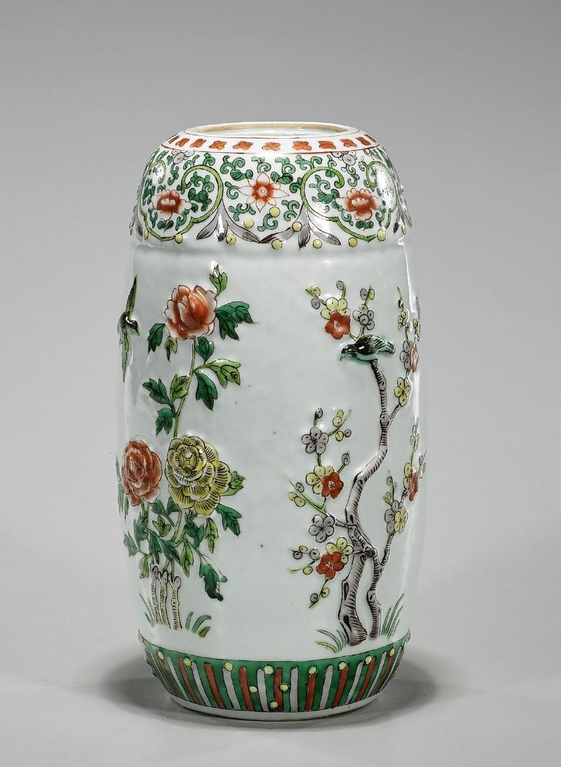 Antique Kangxi-Style Famille Verte Enameled Porcelain - 2