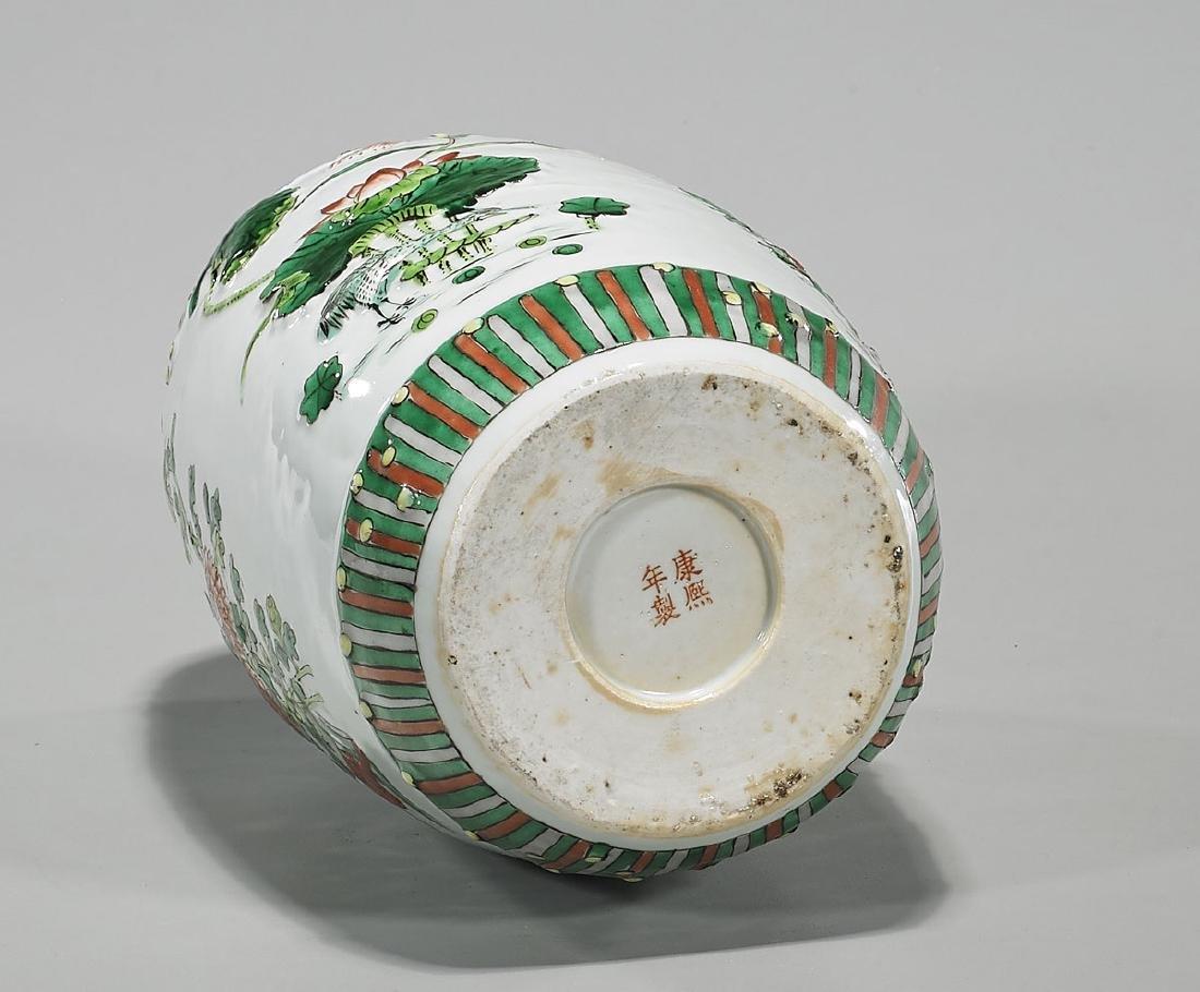 Antique Kangxi-Style Famille Verte Enameled Porcelain - 3