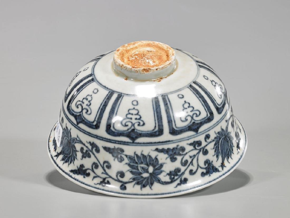 Chinese Blue & White Porcelain Bowl - 3