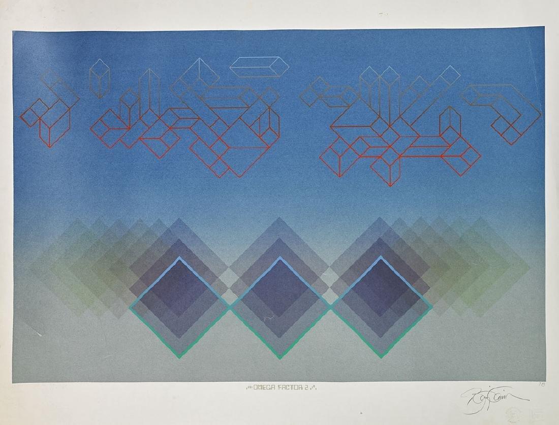 Group of Nine Various Prints By Anthony Benjamin