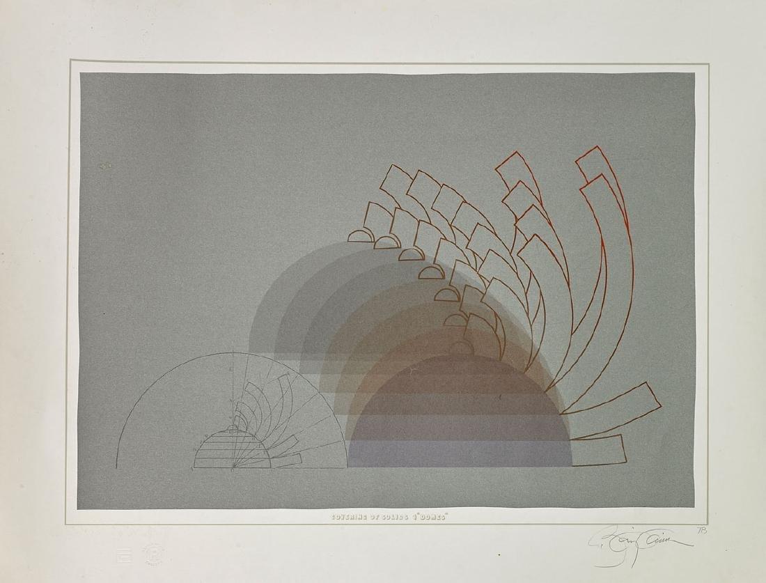 Group of Nine Various Prints By Anthony Benjamin - 3