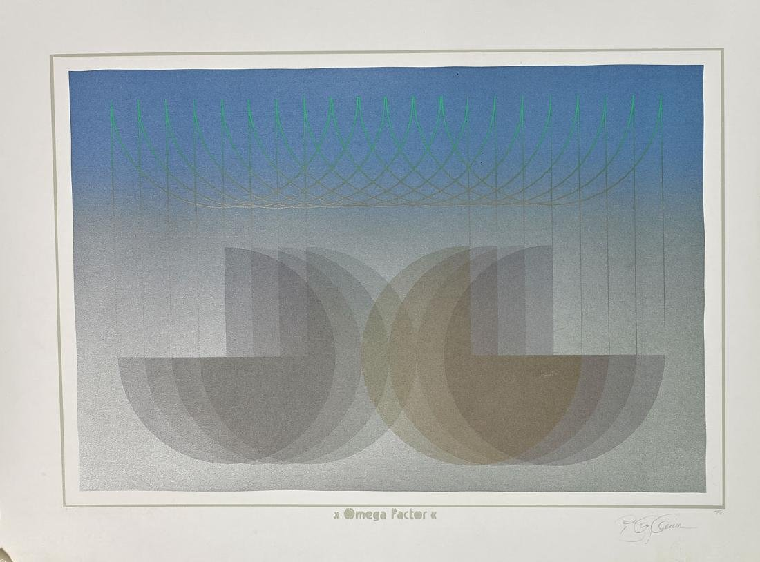Group of Nine Various Prints By Anthony Benjamin - 5