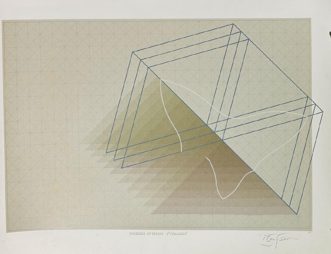 Group of Nine Various Prints By Anthony Benjamin - 7
