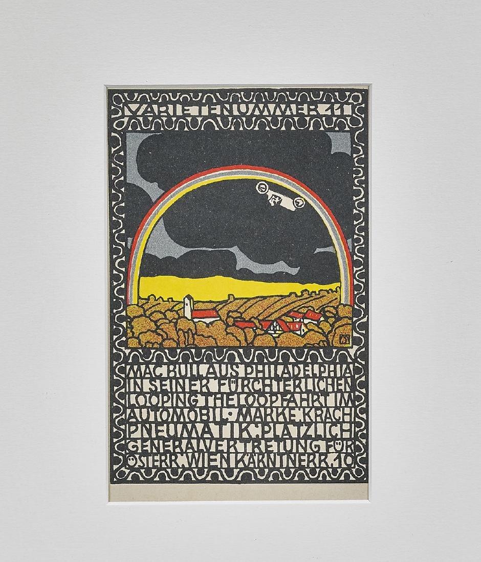 Wiener Werkstätte Postcard By Moriz Jung