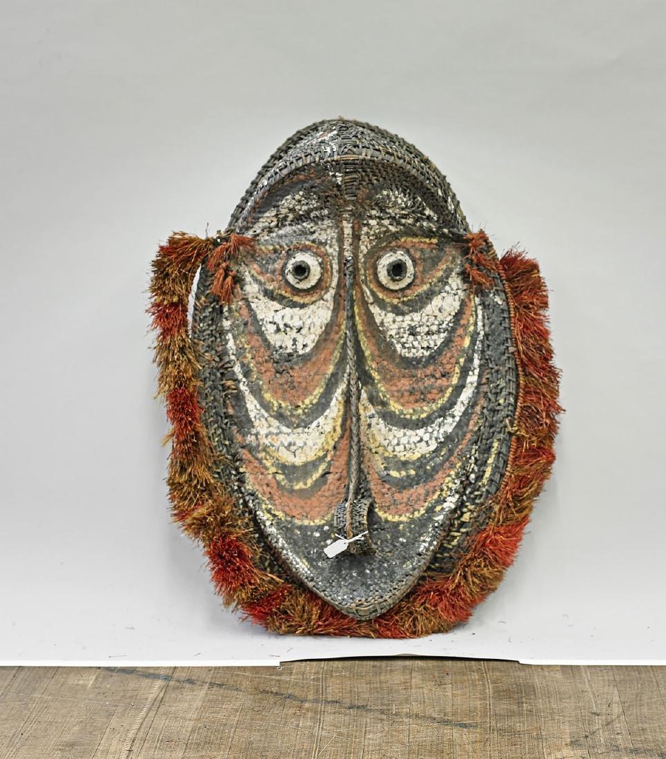 Large Sepik Woven Mask
