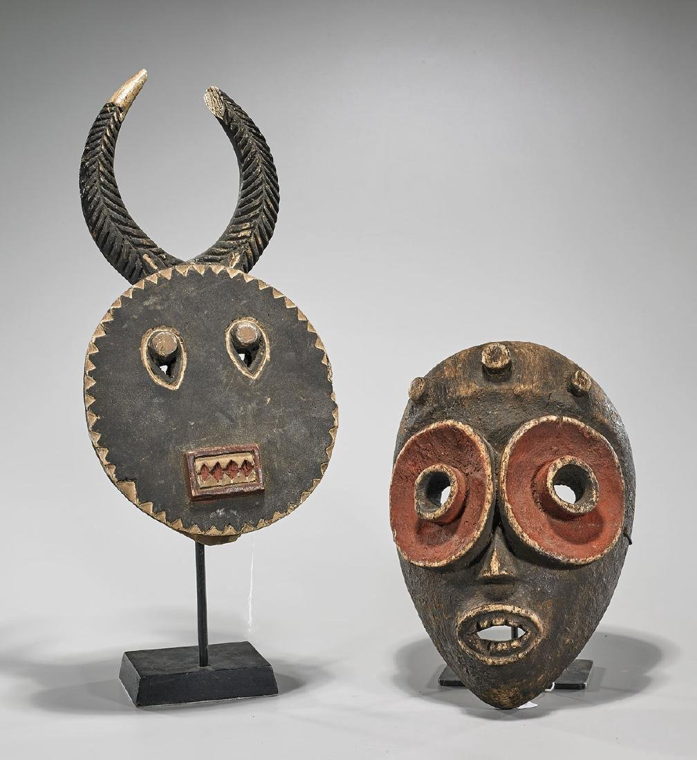 Two Various African Masks