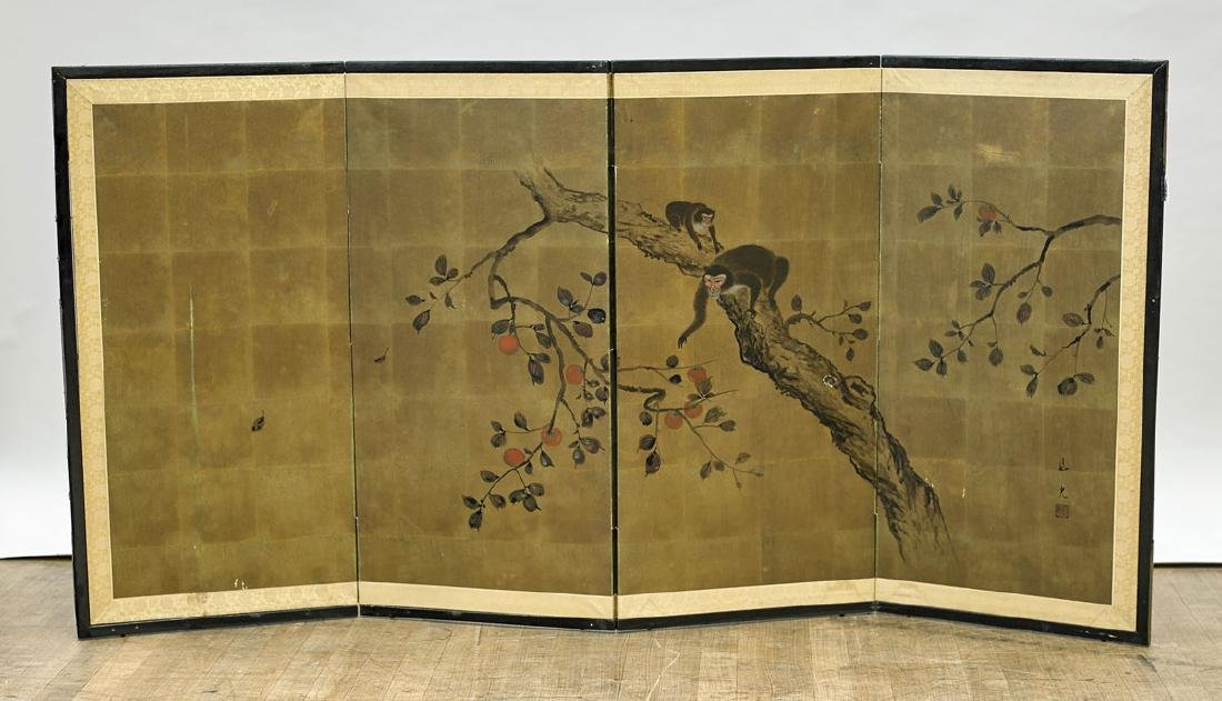Japanese Four-Panel Screen