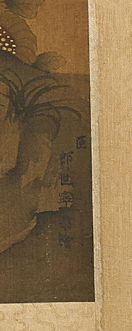Two Chinese Silk Scrolls - 2