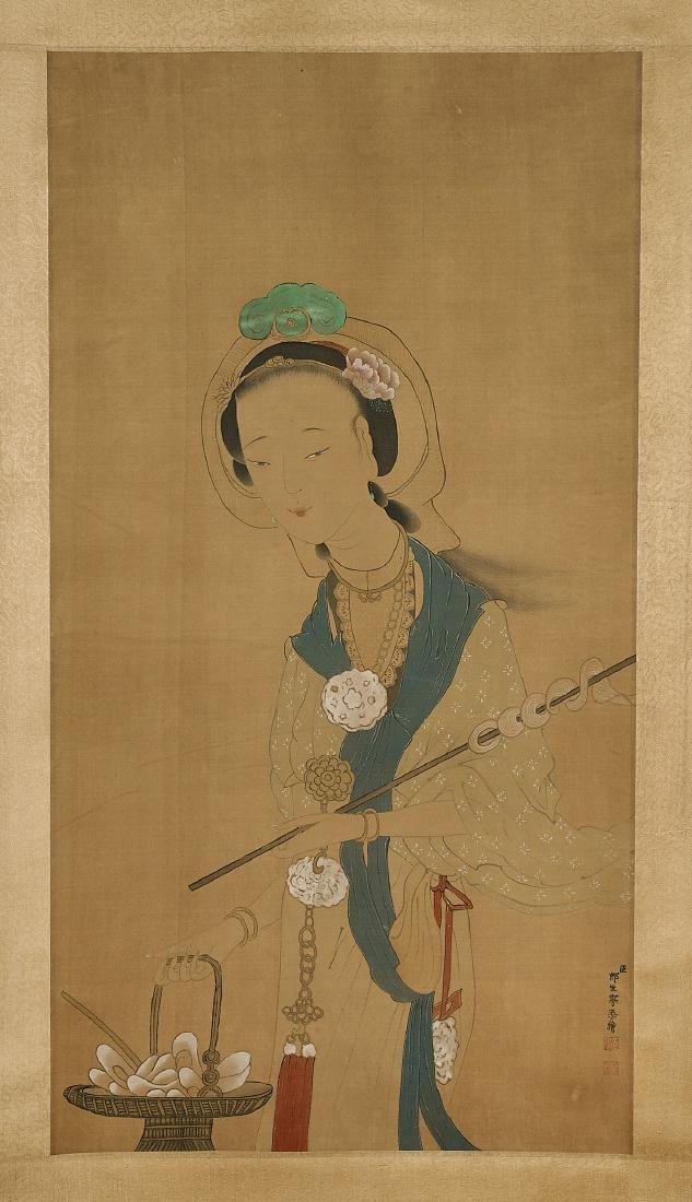 Chinese Silk & Paper Scrolls