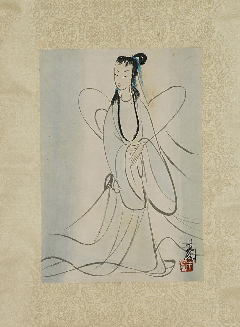 Chinese Silk & Paper Scrolls - 3