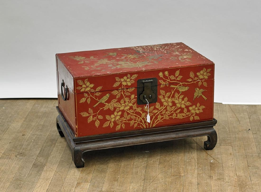 Old Chinese Wood Chest