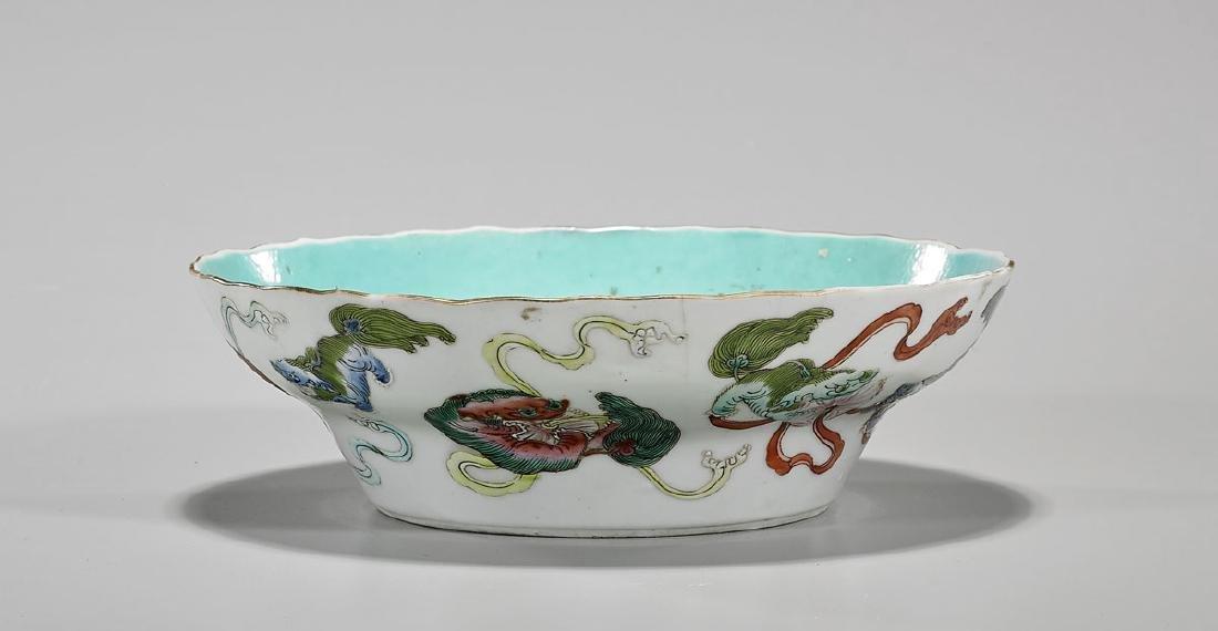 Antique Chinese Enameled Porcelain Bowl