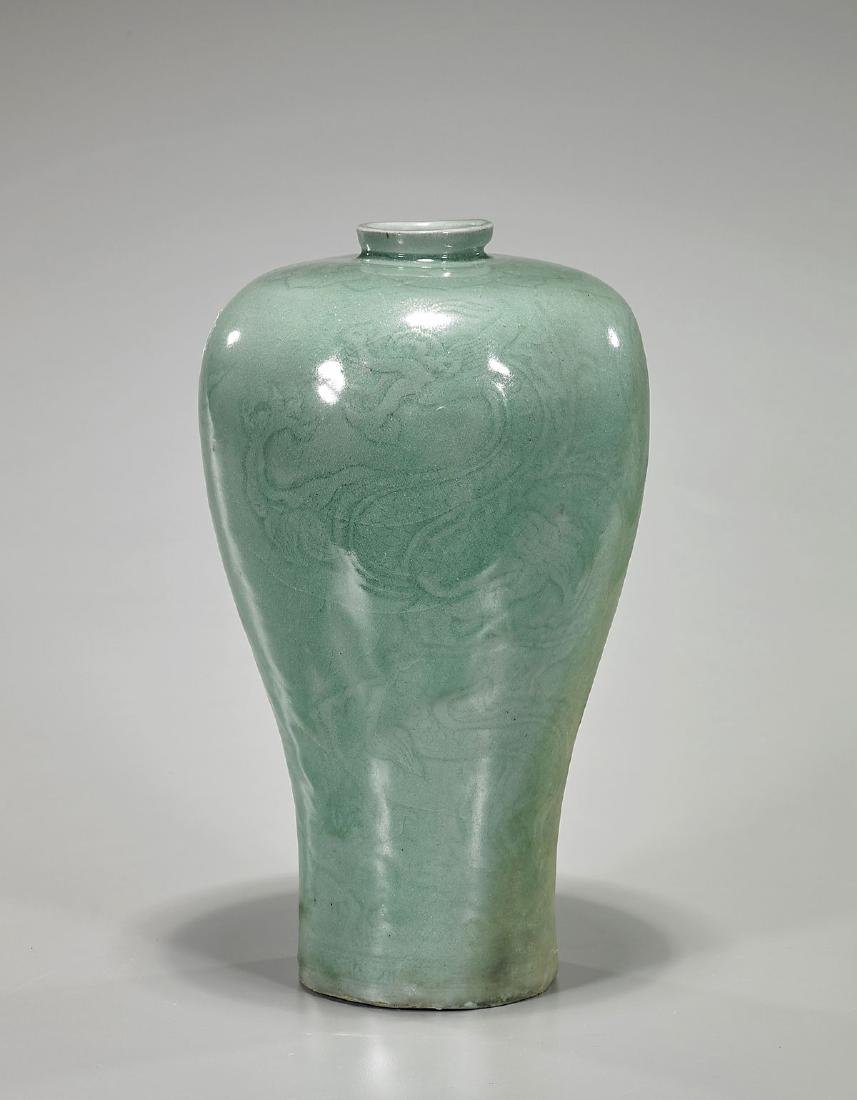 Korean Celadon Ceramic Vase