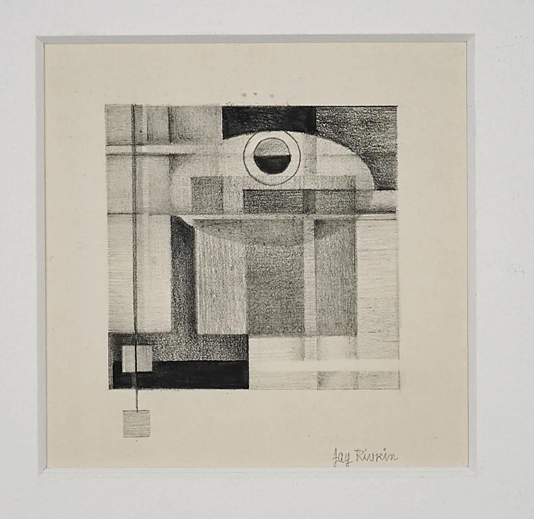 Two Flatworks: Graphite & Lithograph