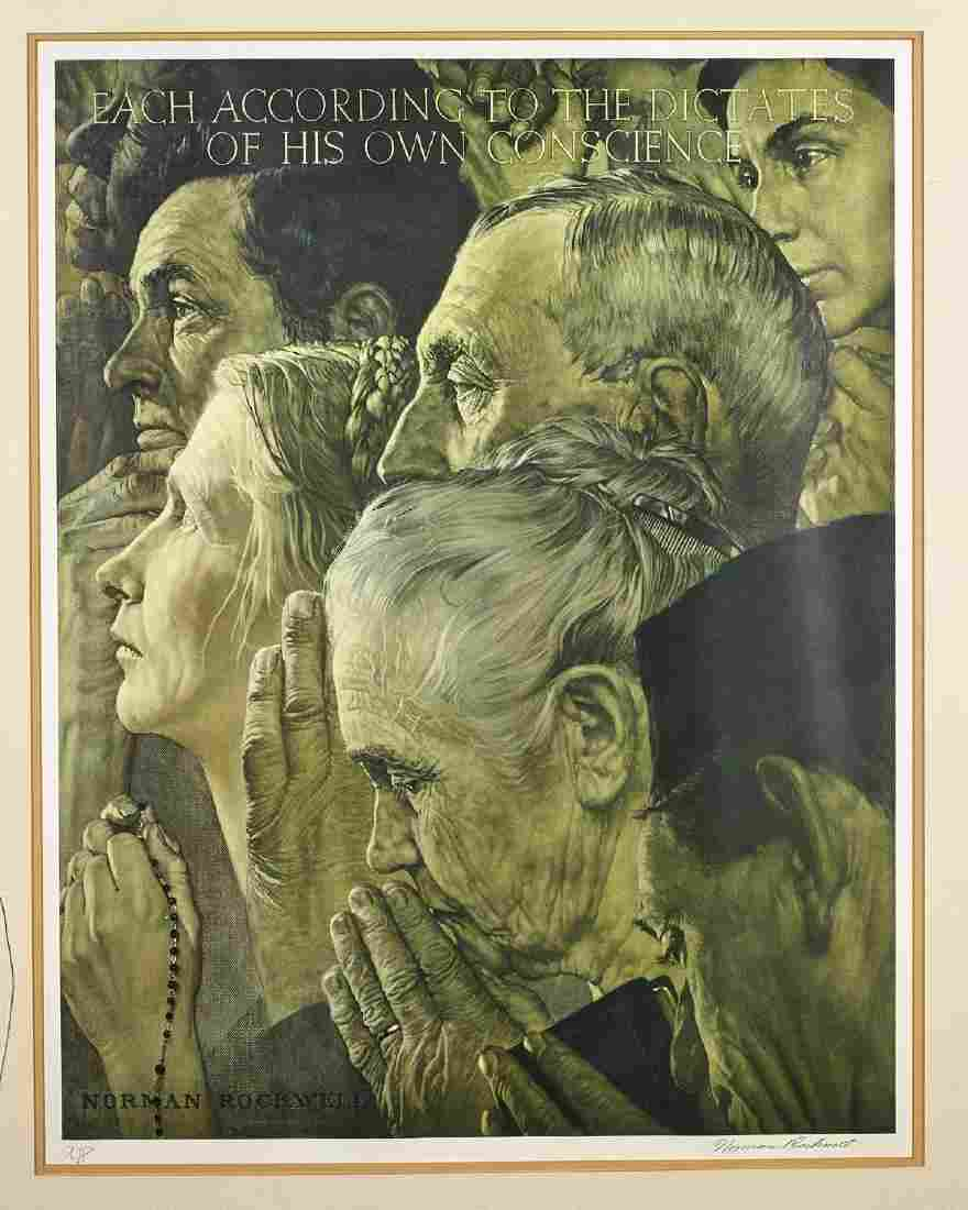 Print By Norman Rockwell