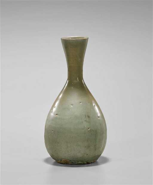 Antique Korean Celadon Glazed Vase