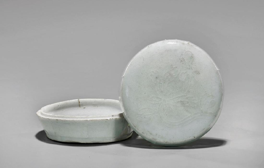 SONG DYNASTY MOULDED QINGBAI BOX
