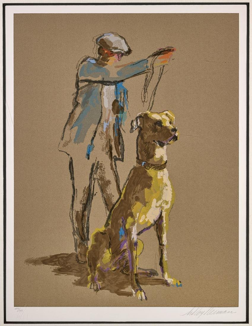 SERIGRAPH BY LEROY NEIMAN: Great Dane