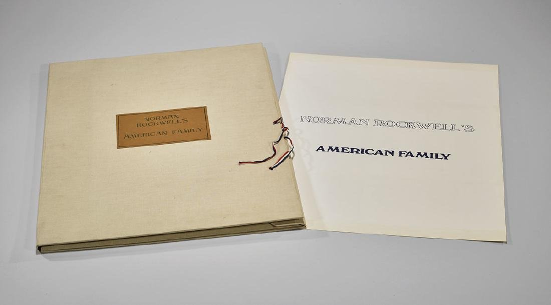 'AMERICAN FAMILY' PARTIAL FOLIO BY NORMAN ROCKWELL