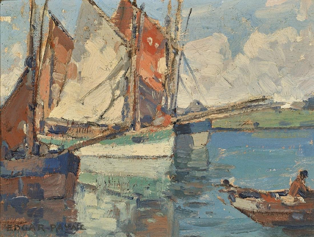OIL PAINTING BY EDGAR ALWIN PAYNE