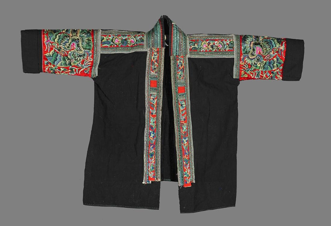 Two Chinese Embroidered Jackets