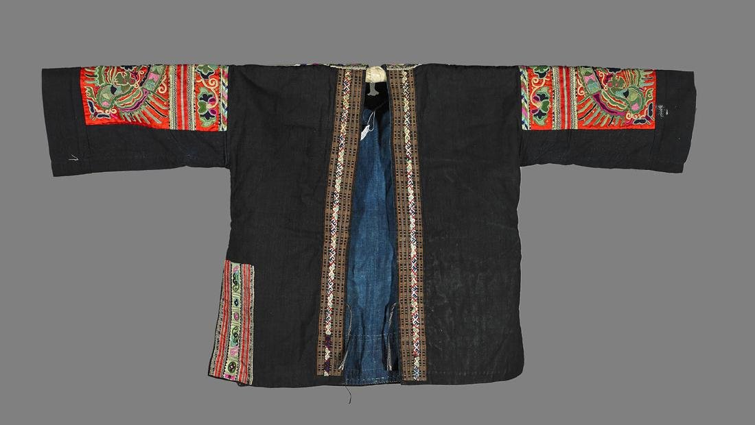 Two Chinese Embroidered Jackets - 2